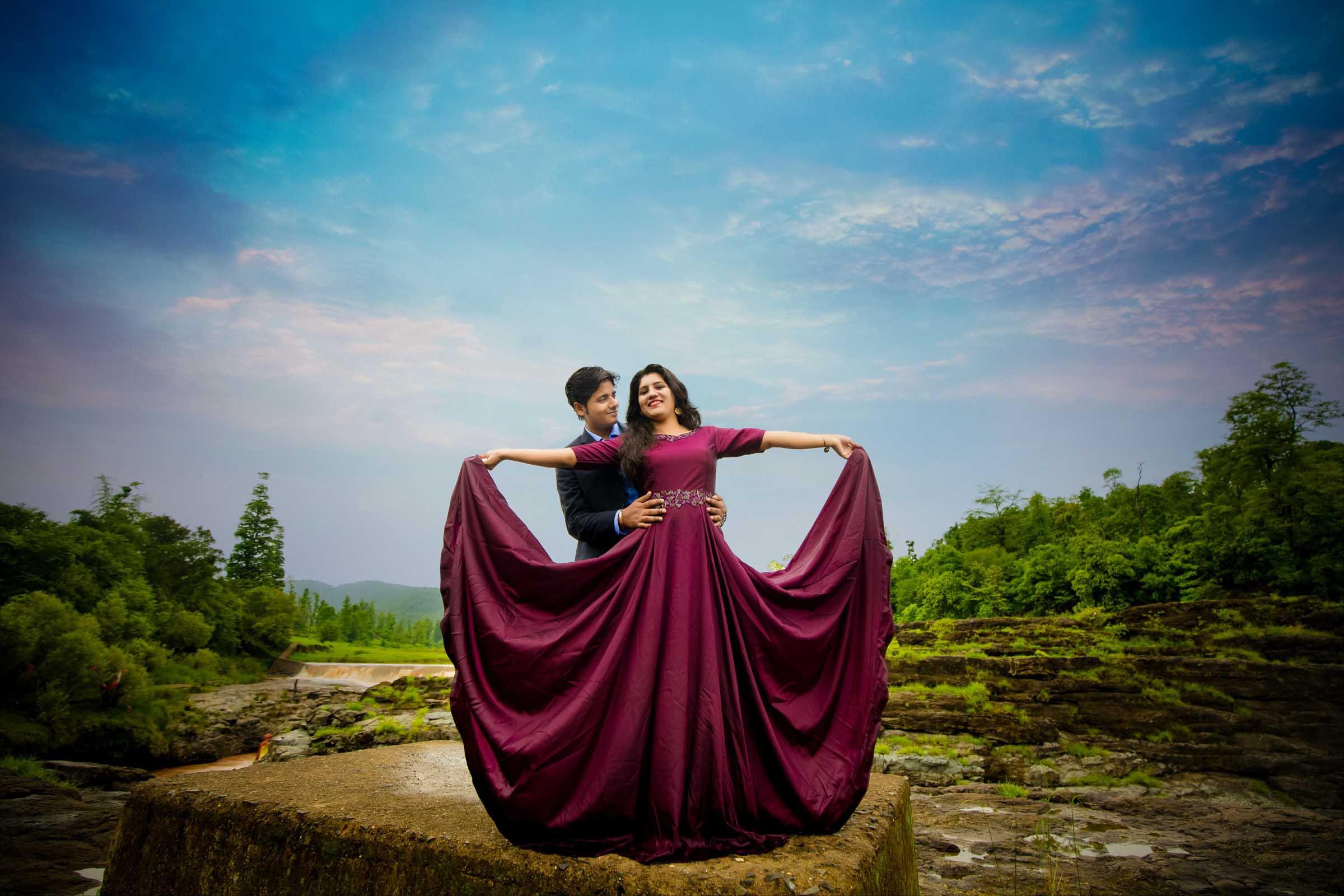 Shweta & Rajat Pre-Wedding Shoot