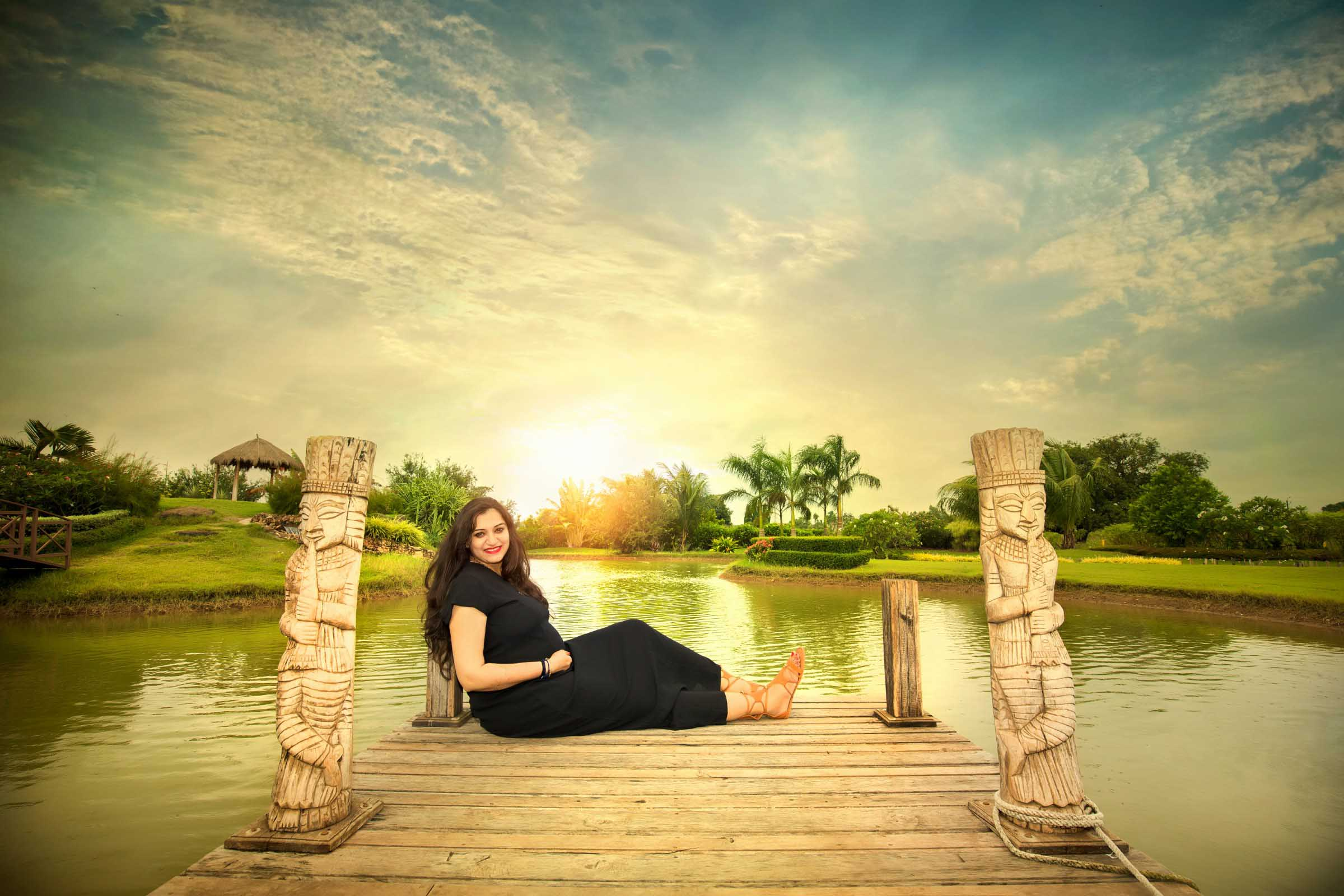 Pranav Krishna Maternity Shoot