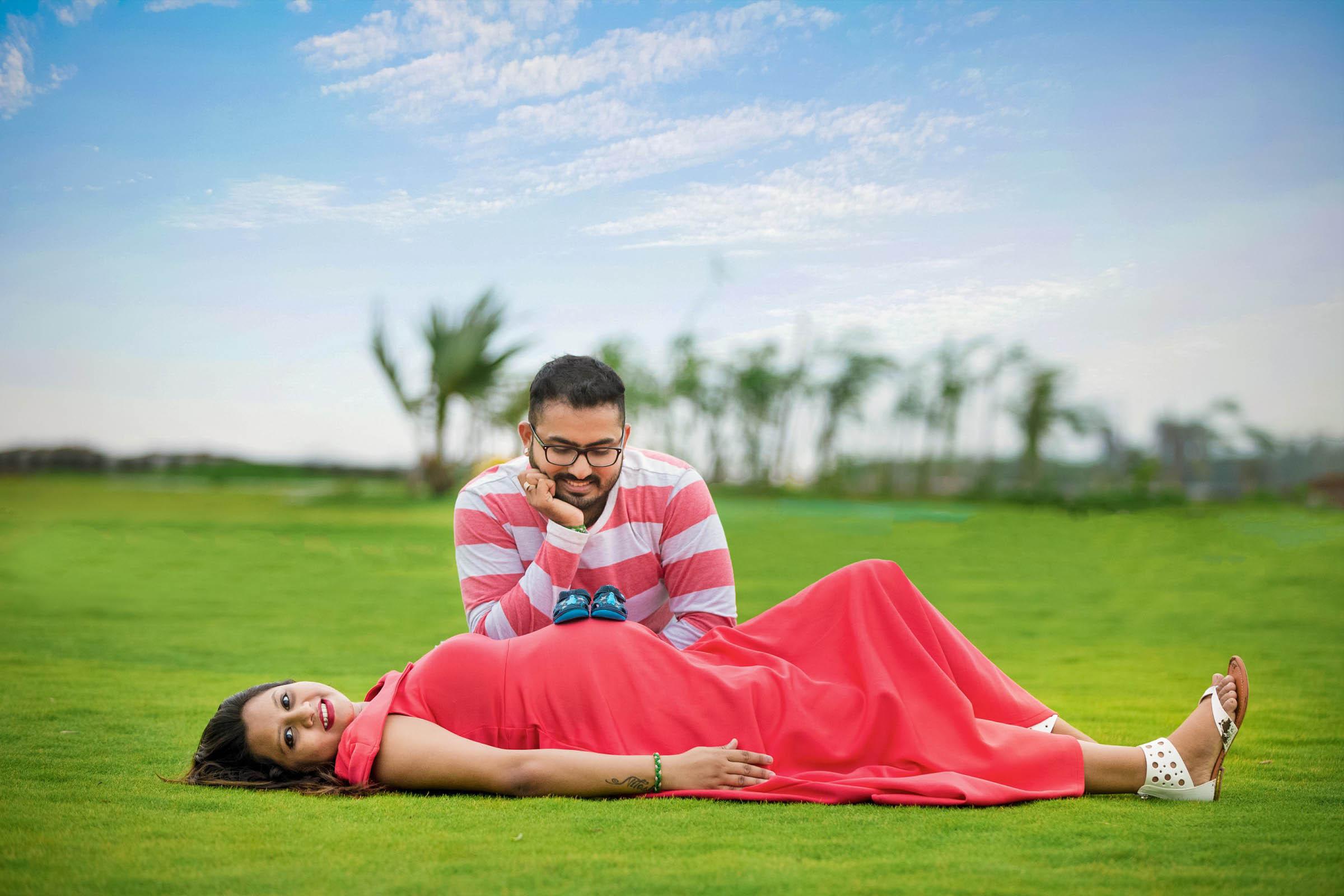 Rutvi & Nitesh Maternity Shoot